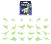 24 Dinosaur G.I.D Night Lights - Bedroom Glow In The Dark Star Wall Stickers