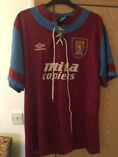 Aston Villa Mita Copiers Umbro shirt XL
