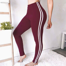 Women Yoga Fitness Leggings Running Gym Sports High Waist Jogging Pants Trousers