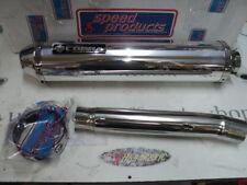 Auspuff T509 COBRA Street Cone Alu rund TRIUMPH SPEED TRIPLE BJ.97-99 -T509 es