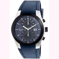Kenneth Cole NY KC1681 Men's Multifunction Blue Rubber Strap Watch