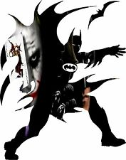 Joker and Batman Decal Sticker
