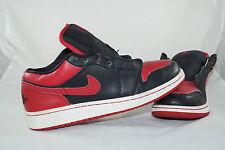 Nike Air Jordan 1 Phat (GS) Gr: 38,5 Rot Schwarz Low Basketball