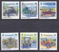 GUERNSEY, 2008,  MODEL T FORD, SG 1242-47  MNH SET OF 6, CAT £7