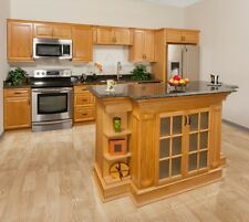 ALL WOOD Kitchen Cabinets 10x10 Harvest Oak  RTA  FREE SHIPPING