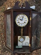 Spiegel Made In Korea Wooden 31 Day Pendulum Wind Up Wall Clock With Key