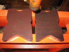 "PREMIUM 20 Ton STEEL shop PRESS BED PLATES, H-Frame Arbor X-Bars, 5 ""X 7"" Set Pr"