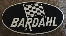 VINTAGE BARDAHL HYDROPLANE BOAT RACING JACKET PATCH 13 BY 7