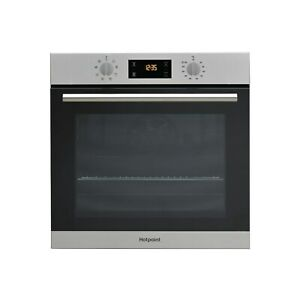 Hotpoint Electric Fan Assisted Single Oven - Stainless Steel