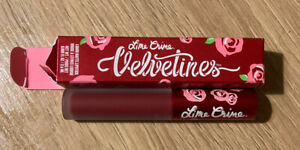 💜NEW Lime Crime Velvetines Liquid Matte Lipstick - RED ROSE - Vegan 💜