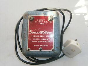 Vintage Smoothflow 12 volt Power Supply