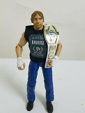 "WWE Custom Dean Ambrose  ""No Good Dean"" Mattel  Shirt Accessory"