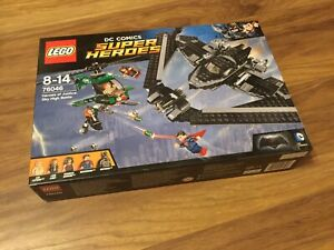 Lego DC Comics Super Heroes 76046 Heroes of Justice: Sky High Battle Set NEW