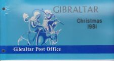 Gibraltar Presentation Pack 1981 Christmas SG 457-458 10% off 5