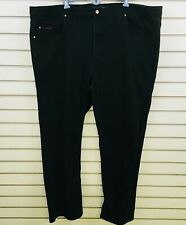 Mens 48x32 Grand River Stretch Jeans Black Traditional Straight