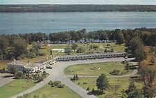Long Beach Motel BROCKVILLE Ontario Canada H.R. Oakman Peterborough Postcard Co.