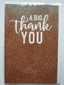 LARGE THANK YOU CARD.