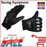 Alloy Steel Motorcycle Motorbike Powersports Racing Gloves Metal Strong Knuckle