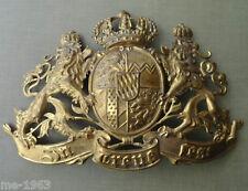 original BAYERN  Emblem  In Treue  Fest Löwen mit Staatswappen