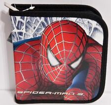 Marvel Spider-Man Car Travel Holds 24 CD or DVD Case