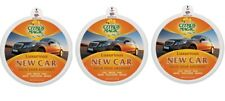 3 Pack New Car Citrus Magic On The Go Solid Air Absorber Luxurious 8-Ounces