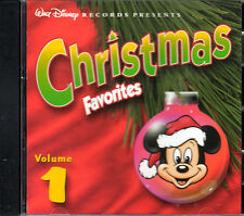 Walt Disney's CHRISTMAS FAVORITES Vol. 1: VINTAGE 1999 DISNEY HOLIDAY MUSIC! OOP