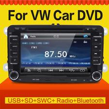 Autoradio For VW SEAT 2-DIN GPS Bluetooth DVD DIVIX Golf 5/6 Passat Polo Eos MP3