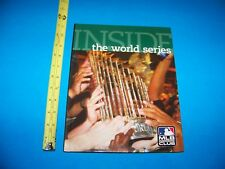 "Baseball  ""Inside The World Series""   MLB Insiders Club Book   2009"