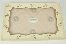 Vintage 100% Rayon Placemats and Napkins Boxed Set of 8 Majestic Made in USA