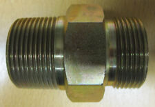 """1 1/4""""BSPT to 1 1/4""""BSPP Steel Hydraulic Fitting 1BP20T20"""