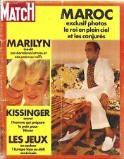 MARILYN MONROE PARIS MATCH