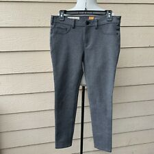 Anthropologie Pilcro Serif Heathered Ponte Leggings Gray Women Casual Pants 30