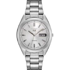 Seiko SNX993K Men's Stainless Steel Silver Dial 30M WR Watch Brand New w/ Tag's