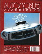 Automobiles Classiques 23. Décembre 1987. Venturi. Jaguar SS 100 . Pegaso.