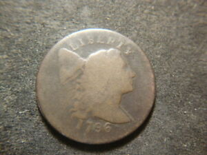 1796 Full Date Liberty Cap Large Cent Nice looking Smooth Flan T2X