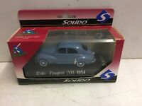 Solido 1954 Peugeot 203 #4546 Sixties Collection 1:43 Die Cast Scale Model