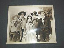Where the Buffalo Roam Tex Ritter Dorothy Short Photo Original