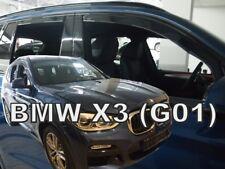 Windabweiser für BMW X3 E83 2003-2010 Steilheck Geländewagen SUV 5türer vorne/&hi