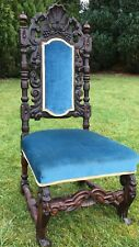 Earnest Antique Edwardian Arts Crafts Inlaid Chair Manner Of William Birch Bedroom Chair Antiques