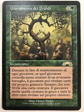 MAGIC MtG - GIURAMENTO DEI DRUIDI - OATH OF DRUIDS - EXC/NM  ITA