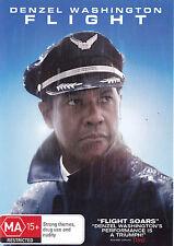FLIGHT Denzel Washington DVD R4 - PAL - New