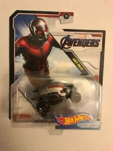Hot Wheels Character Cars Avenger Ant-Man--Ships Fast