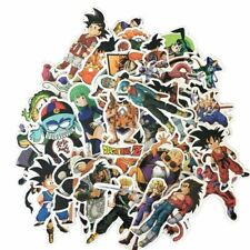 50Pcs Anime Dragon Ball Z Super Saiyan Goku Sticker Decals For Laptop NyLIx