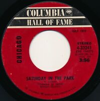 CHICAGO - SATURDAY IN THE PARK / DIALOGUE I & II  COLUMBIA 4-33241- 45 Record VG