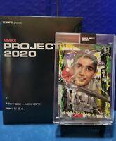 Topps Project 2020 #99 ~ SANDY KOUFAX by Artist Tyson Beck ~ w/box HOF YANKEES