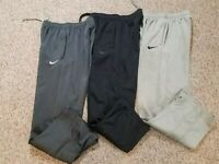 Lot's Of 3 Nike Therma-Fit Boy's Sweatpants Size large & Xl