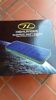 Highlander Sleepeze Swift Single Blow Up Airbed with built in pump