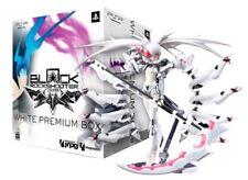 PSP Black Rock Shooter The Game White Premium BOX w/ figma WRS Figure LTD ED