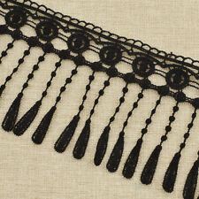 3 Yards Hollow Lace Trim Embroidered Fringe Ribbon Fabric Sewing Crafts