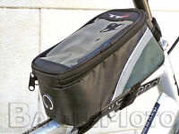 Borsello Porta Cellulare / Smartphone Portaoggetti GRIGIO Bici MTB - City TOUCH